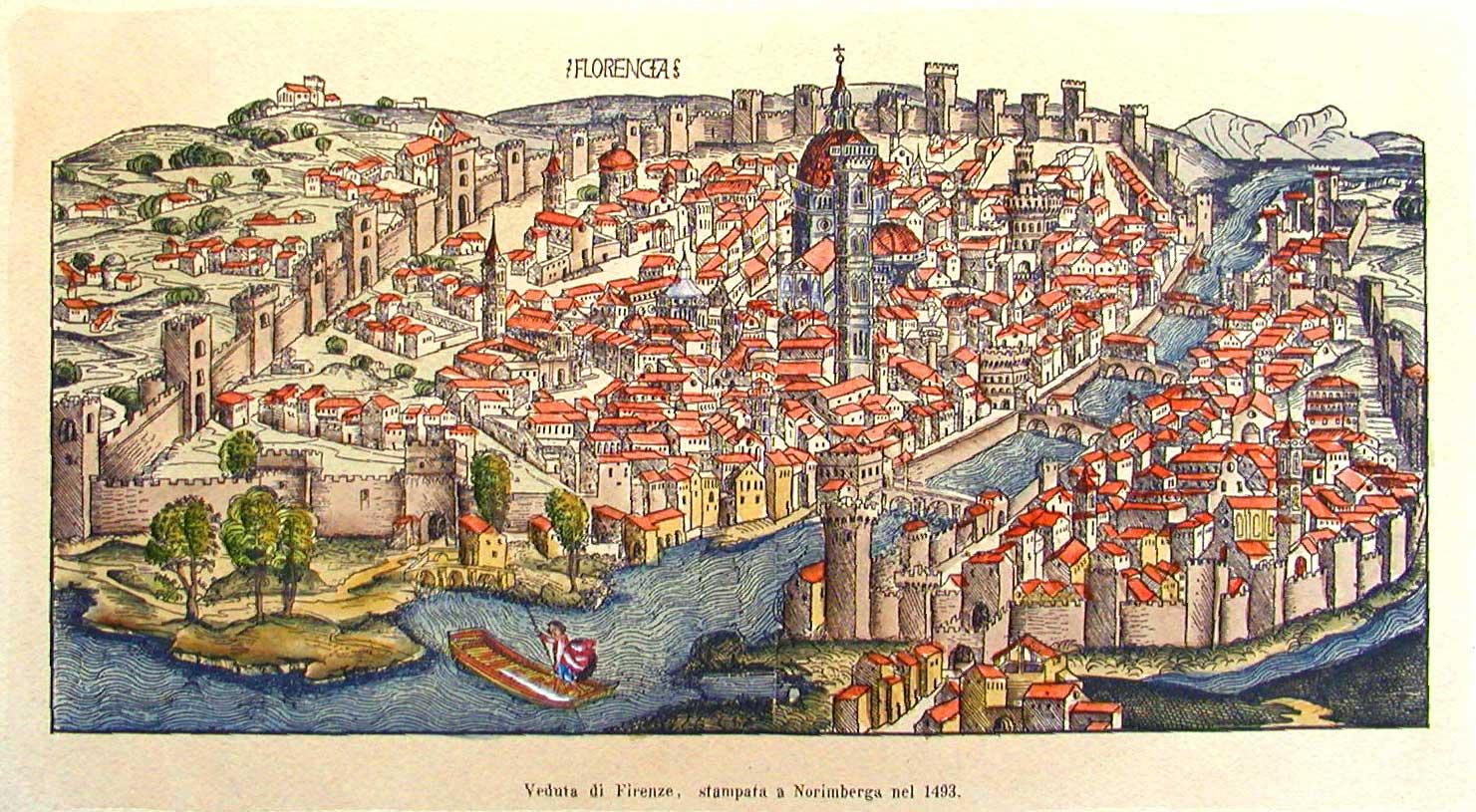 Carte De Florence Plan Touristique