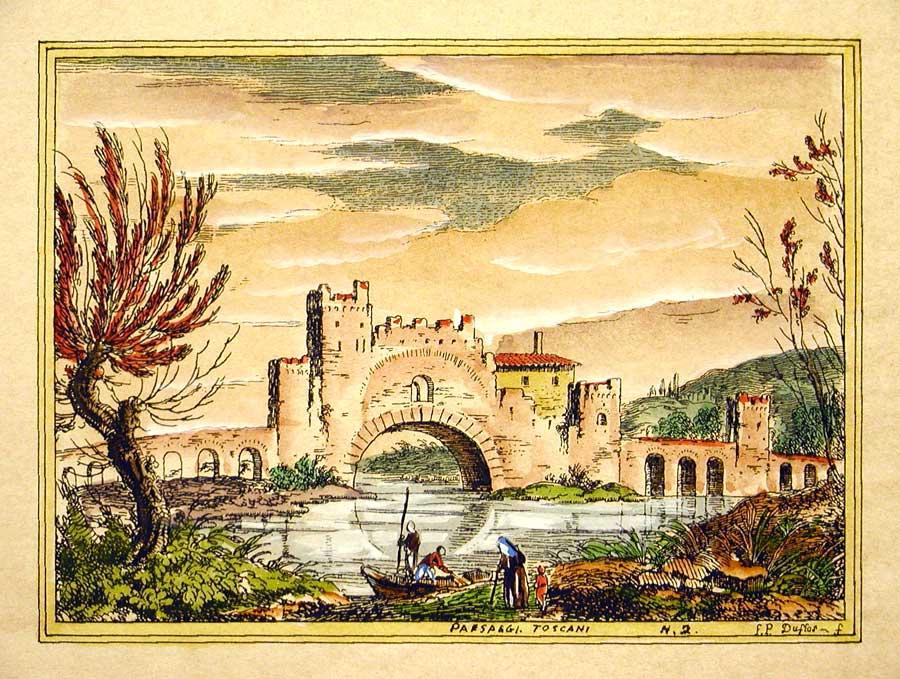 Paesaggi toscani firenze stampe stampe artistiche for Stampe paesaggi naturali