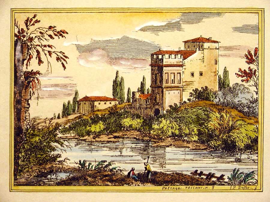 Paesaggi toscani firenze stampe stampe artistiche for Idee artistiche di progettazione del paesaggio